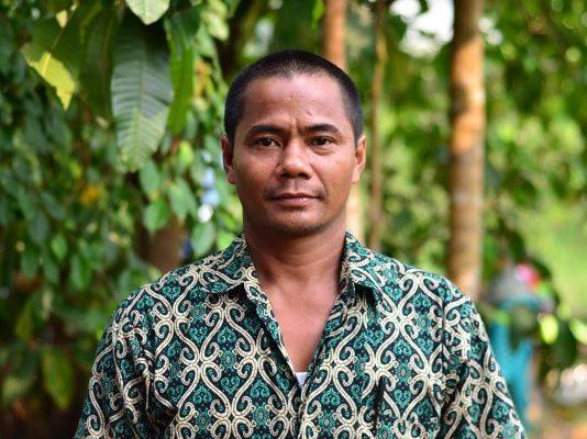 Amir Mahmud, Forest Guardian near Sukadana, West Kalimantan, Borneo
